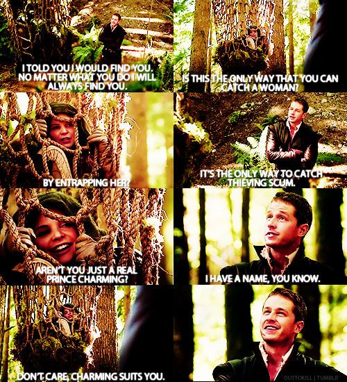Gotta love Snow and Charming!