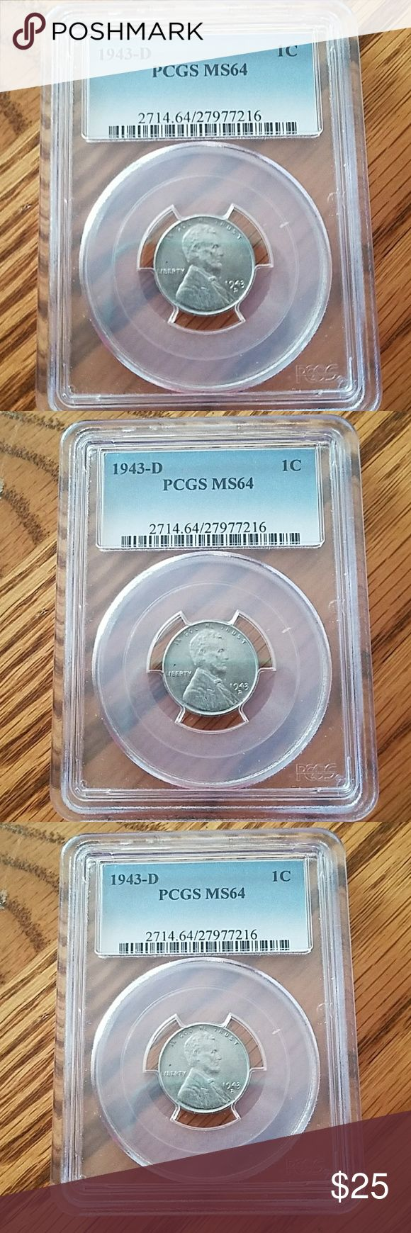 1943- D COIN Graded Other