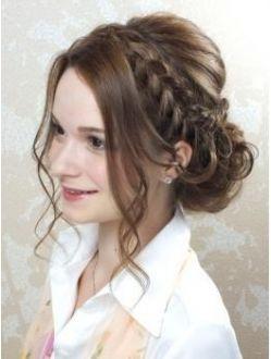 ヘアセットアンドエクステンションショールーム(SHOW ROOM) 結婚式にオススメのヘアスタイル