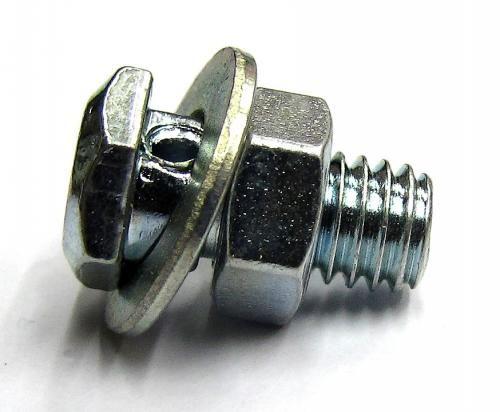 Serre-câble de frein M6x1xlg.13 (420) - Butées / embouts / Serre-câbles - Câbles / Gaines - Solex-Motobecane