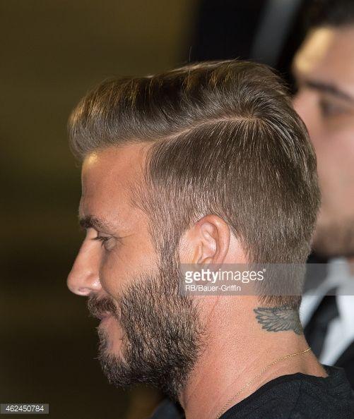 News Photo : David Beckham is seen at 'Jimmy Kimmel Live' on...