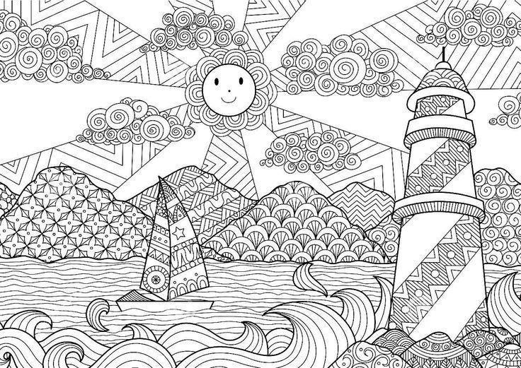 107 besten Zentangle boyama Bilder auf Pinterest | Malbücher ...