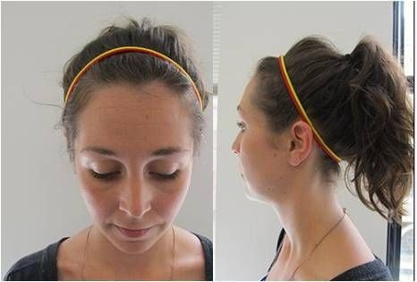 Elastic Headband How-To: Frizz-Free Humid Hairstyles in Under 5 Minutes
