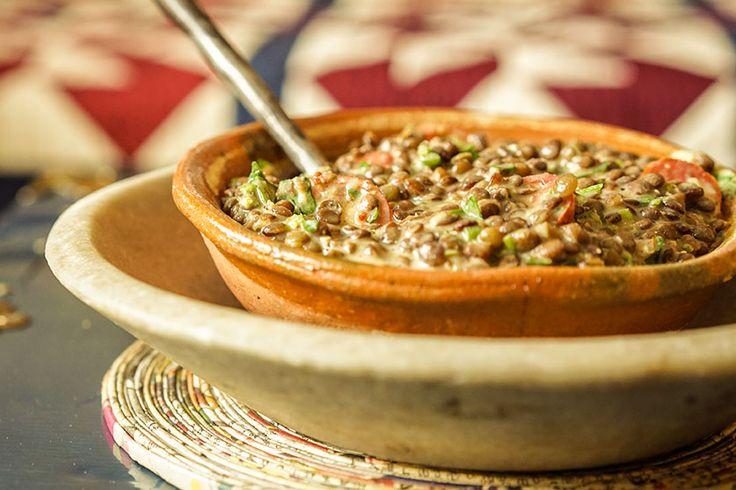 Salade de lentilles à la dijonnaise - Épices de cru