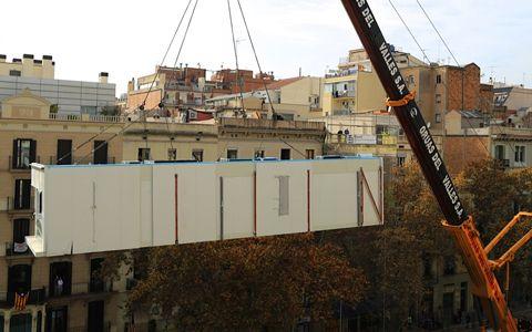 La casa por el tejado barcelona 013 ea prefabricated - La casa por el tejado ...