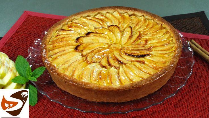 Torta di mele della nonna: ricetta con crema pasticcera e pasta frolla -...