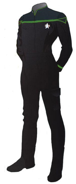 Concept Art / Uniform re-design for Starfleet.  Sweet!