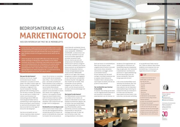 BEDRIJFSINTERIEUR ALS MARKETINGTOOL?