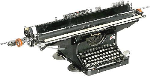 Burroughs Electric typewriter