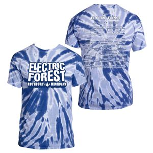 Electric Forest Lineup Tie Dye