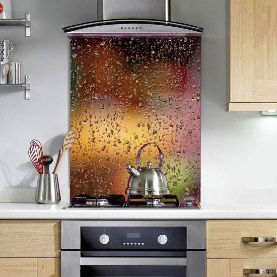 Abstract Rain - Printed Glass Splashbacks http://www.colour2glass.com/#!abstract-rain/c1fi