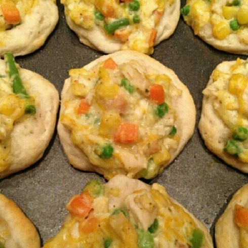 My Baby Pajamas Tuesday Cook Off ~ Mini Chicken Pot Pies