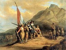 """Jan van Riebeeck became the First Dutch Commander of the """"Cape"""" (1652-1662). He was charged, among other duties, with building a Fort initially named """"Fort de Goede Hoop"""" (Fort of Good Hope), from the Portuguese name of the Cape, """"Cabo da Boa Esperanca"""", name that had been given by the Portuguese Navigator, Bartolomeu Dias, who had found the Southeastern Passage to the Indian Ocean back in 1488."""