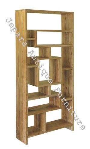 Rak Buku Minimalis Kayu Jati finishing natural bisa anda dapatkan dengan mudah ditoko kami, rak buku dengan model minimalis ini terbuat dari kayu berkualitas, sehingga menjadikan lemari minimalis yang satu ini memiliki kualitas yang bagus.