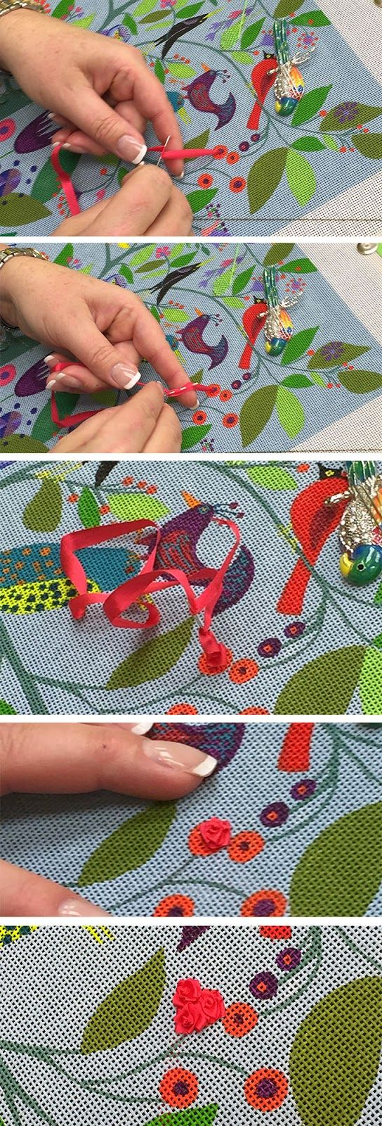 It's not your Grandmother's Needlepoint: Many Birds, Many Trees, Many Leaves, Much Fun!