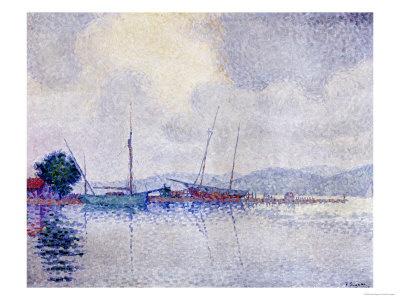 Saint-Tropez, Apres L'Orage Giclee Print by Paul Signac - at AllPosters.com.au