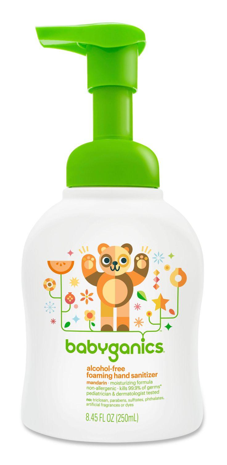 Babyganics AlcoholFree Foaming Hand Sanitizer