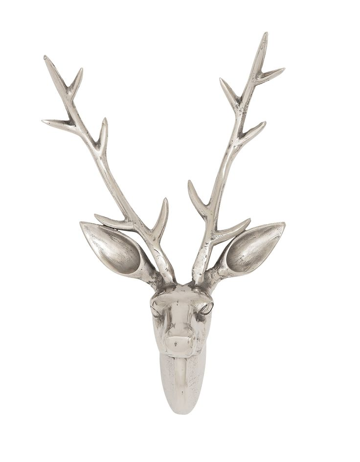 Stunning And Appealing Aluminum Reindeer Head