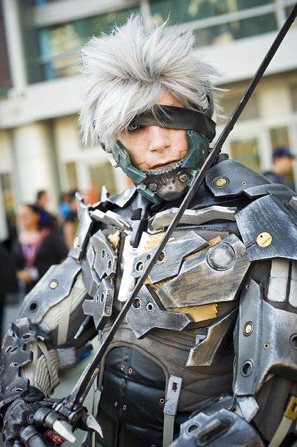 Raden, Metal Gear Solid, photo by Onigun.