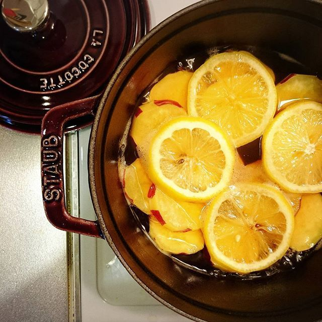おかずにもデザートにもなる常備菜「さつまいものレモン煮」を作ろう!