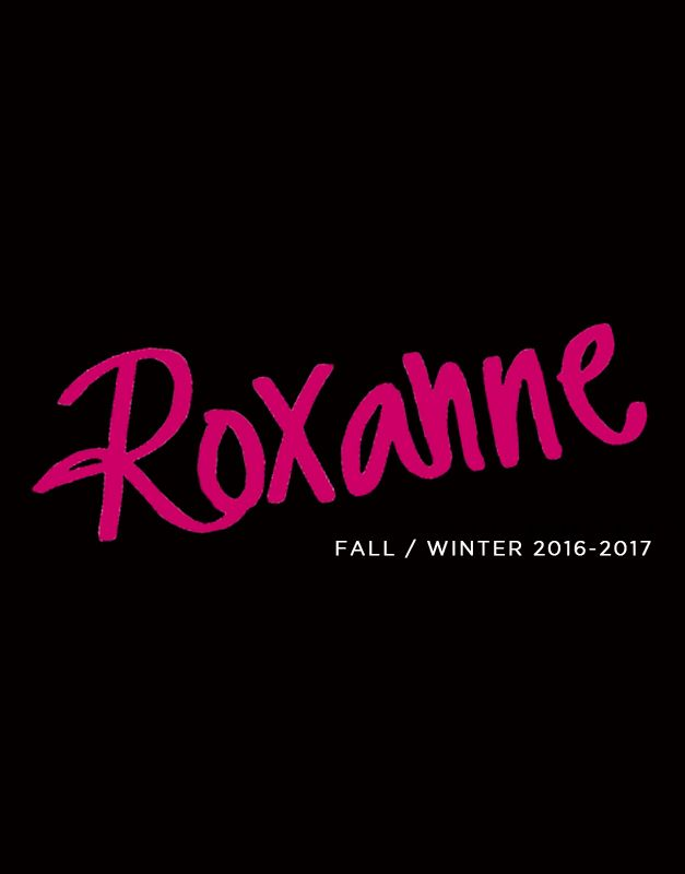 Roxanne, fall winter collection 2016 - 2017 - Cuplé