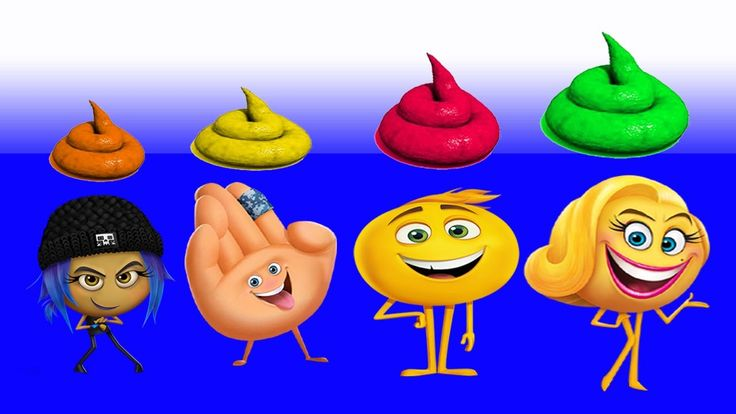 Learn Colors with EMOJI Toilet Poop Soccer Balls Injection JOHNY JOHNY Yes Papa FINGER FAMILY Song