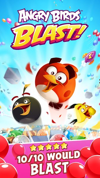 AB Blast v1.3.1 [Mod]Requirements: 4.1 and upOverview: Play an all-new Angry Birds tap-to-match game! The pigs have trapped the Angry Birds inside colorful balloons! Pop matching balloons to set the birds free and stop the pigs in this addicting puzzle-adventure.     At It Again Use your...