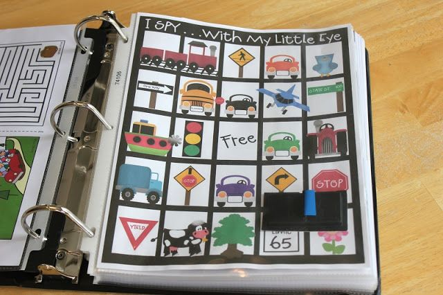 10 Printable Car Travel Games and Ideas for Kids - Faith Filled Food for Moms