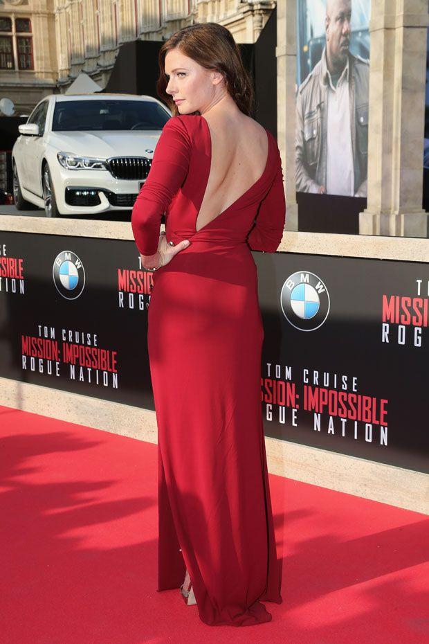 Rebecca Ferguson - 'Mission: Impossible - Rogue Nation' World Premiere