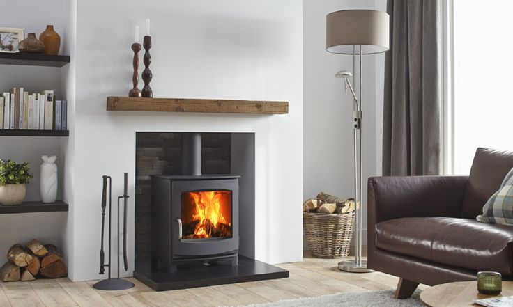 The DG fires Ivar produces a nominal 4.9 kWs with it's compact dimensions making it suitable for a typical UK fireplace. Available with long or short legs.