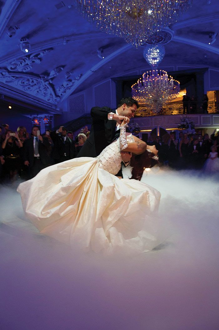 Snooki and Jionni's first dance at The Venetian in Garfield. Go to newjerseybride.com for all the wedding details!