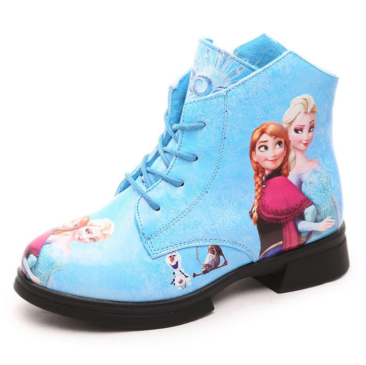 Pas cher 2016 nouveau automne hiver enfants en cuir bottes de neige bottes fille bottes chaussures de princesse reine Elsa Anna en cuir cheville martin bottes, Acheter  Bottes de qualité directement des fournisseurs de Chine:                                Bienvenue à notre magasin.                                                         S&#39