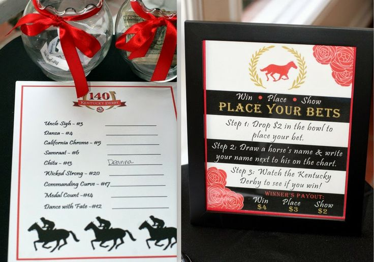 invite and delight  a kentucky derby party