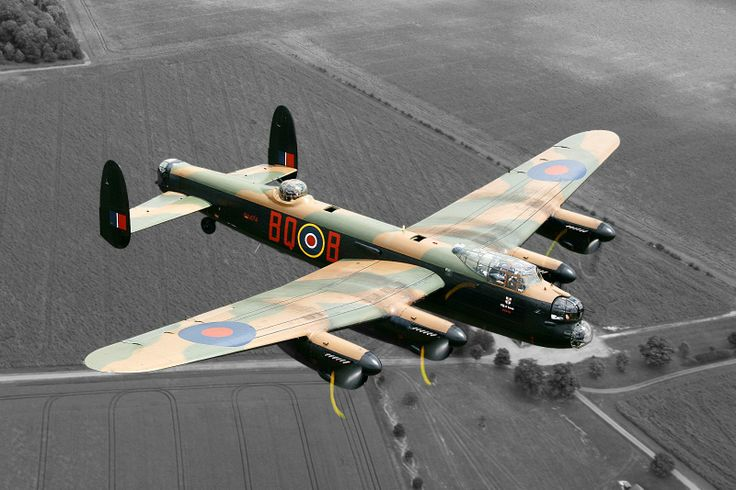 Dad s favouite plane that he did airframe checks on The Lancaster Bomber