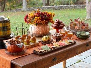 Fall Table via goodhousekeeping.com