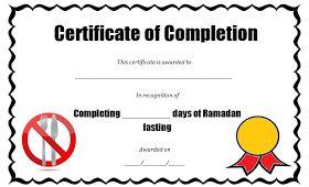 TJ Ramadan: Ramadan Fasting Certificates great for the kids