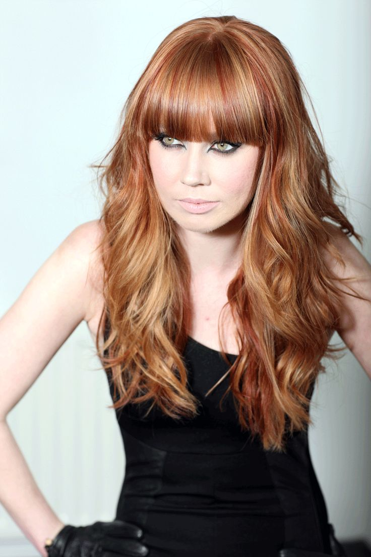 Best 25  Red low lights ideas on Pinterest  Red blonde highlights, Hair cuts and color ideas