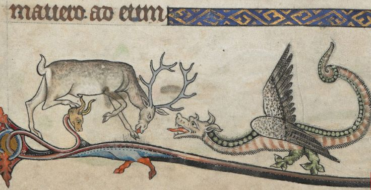 The Alphonso Psalter, c 1284-1316, England (Anglo-French) (British Library, Add MS 24686 f. 12r)