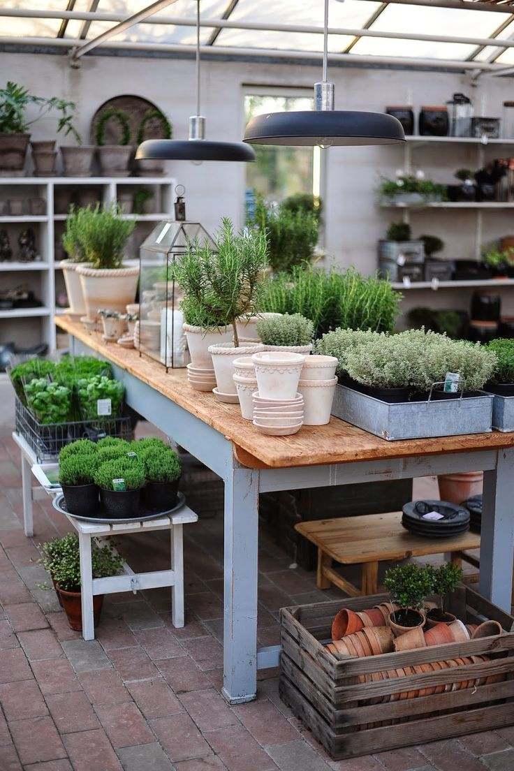 Potting Bench..