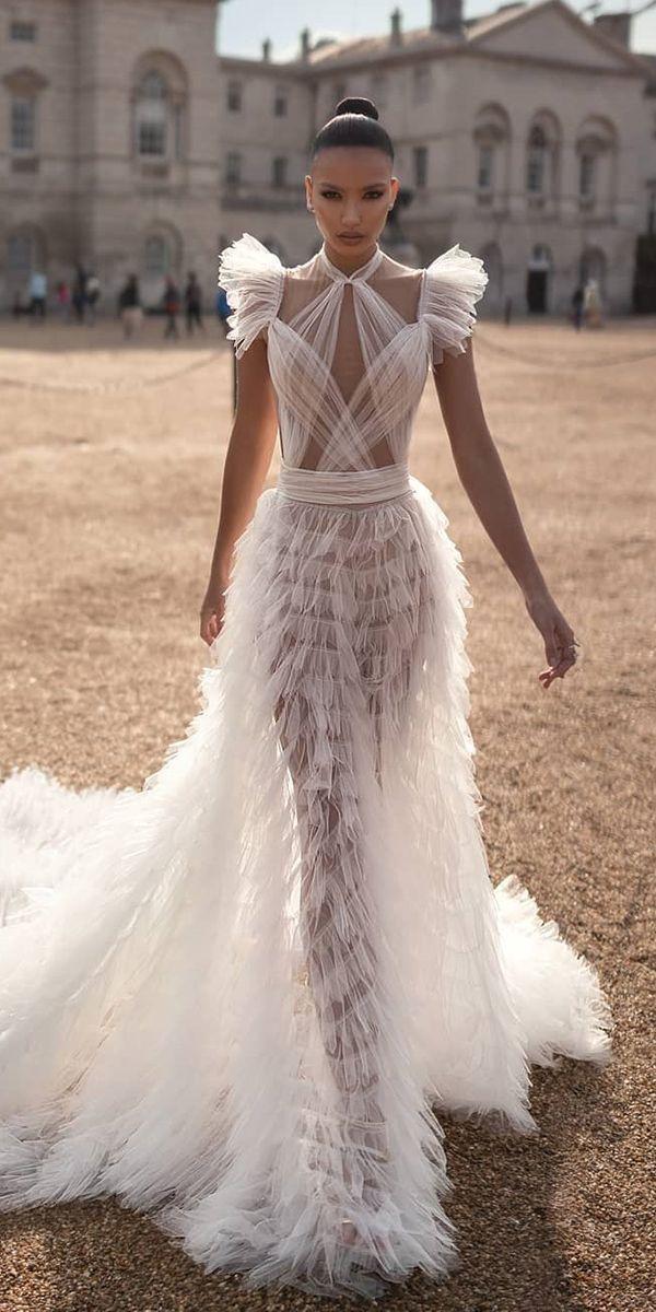 Brautkleider Herbst 2019: Sehen Sie die neuen Trends – #Kleider #Herbst #Trends #Hochzeit