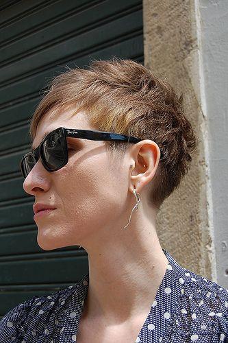 short pixie haircut by silvia for wip hairport lisbon