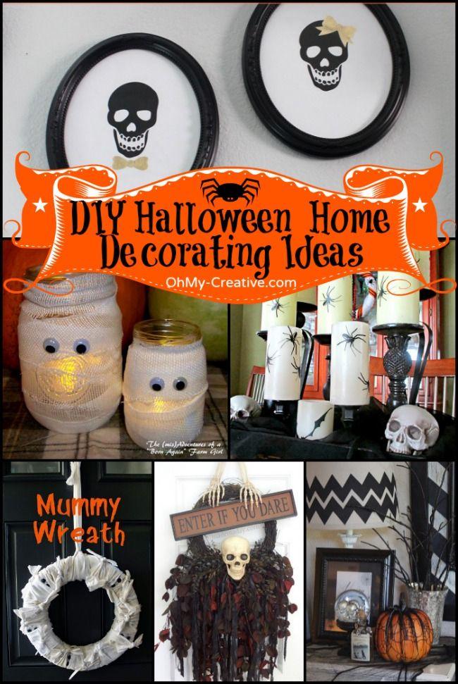Diy Design It Yourself: 25+ Best Ideas About Halloween Home On Pinterest