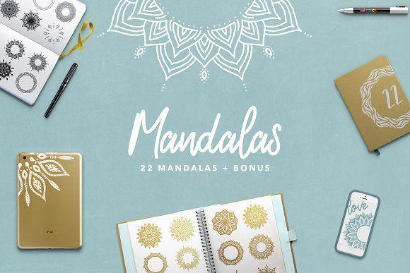 Aboree Mandala Collection Bundle by Petra Burger on @creativemarket