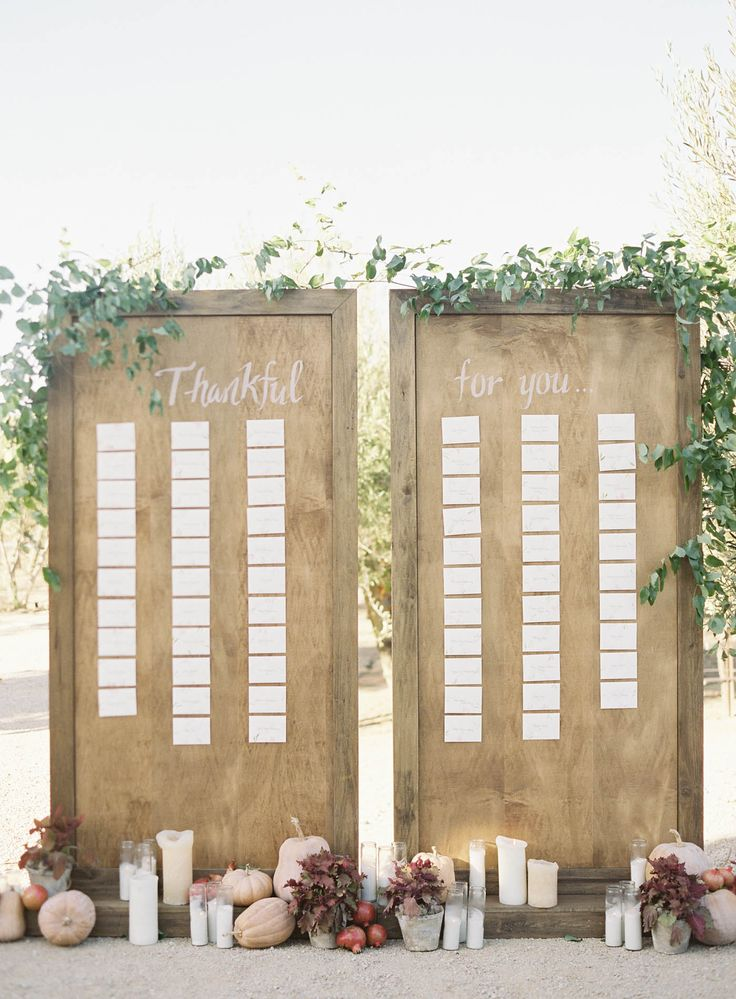 Sunstone Villa Wedding by Jen Huang Photo  Beautiful and Unique Escort Cards