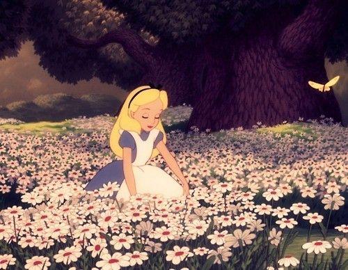 Alice & the butterflies #aliceinwornderland #butterflies