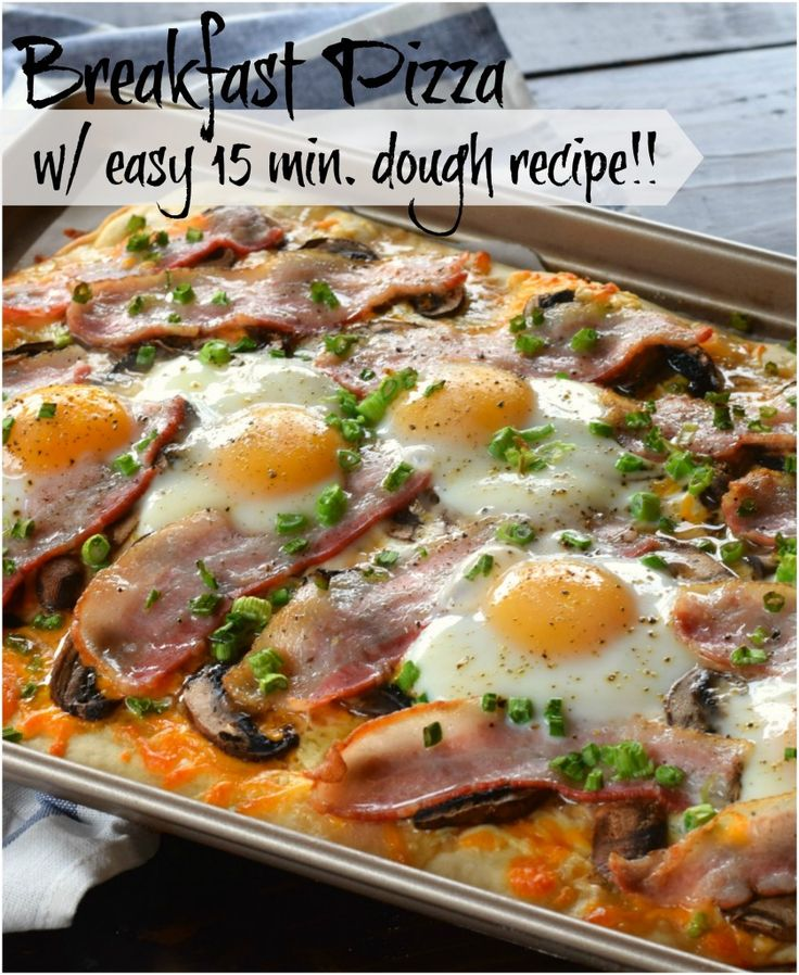 This Breakfast Pizza will change your life forever!