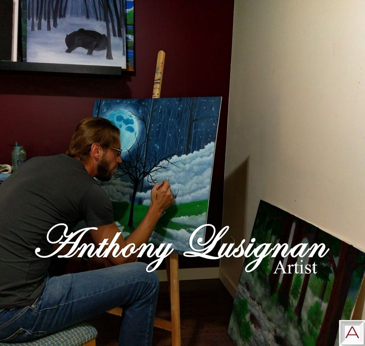 When you stop and look around,life is pretty #amazing because poetry of #nature is never dead. Anthony Lusignan is a self-taught #landscape oil #painter. Check out his work at #artailer.  #artist #painting #canvasart #canvas #artisto #artistoftheday #nature #oilpainting #landscape
