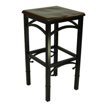 havasu adjustable backless bar stool black