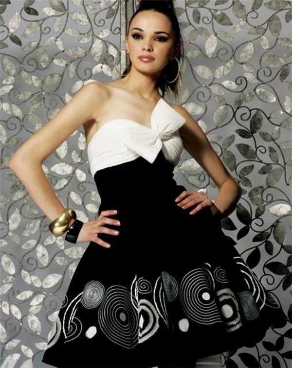 Женское полосатое платье сшить