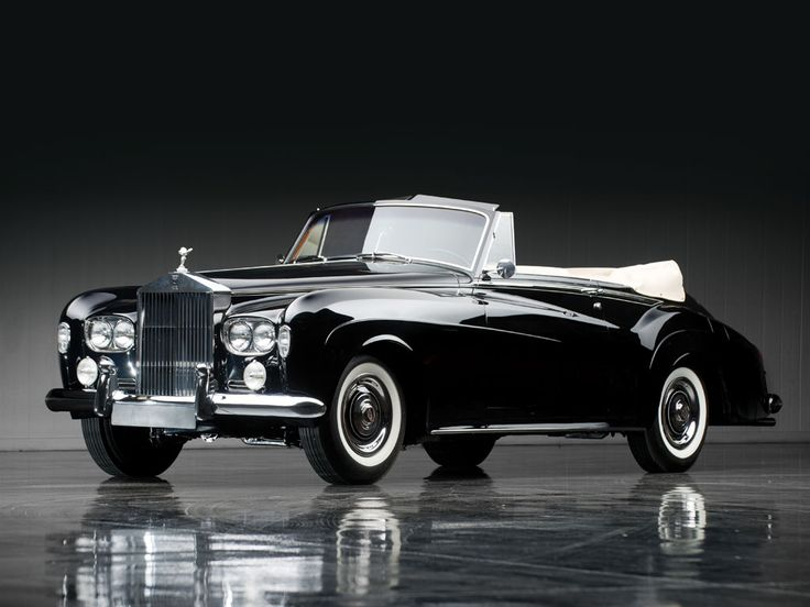1965 Rolls-Royce Silver Cloud III Drophead Coupe by Mulliner Park Ward